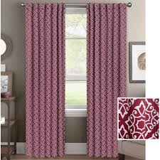 Better Homes Shower Curtains by Better Homes And Gardens Diamond Scroll Room Darkening Curtain