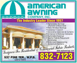 American Awning American Awning Company Inc West Palm Beach Fl 33405 Yp Com