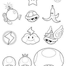 mario star coloring kids drawing coloring pages marisa