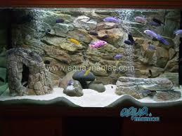 Aquarium extra large rock cave for tropical fish tanks for