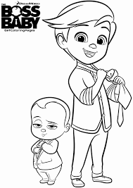 20 free printable boss baby coloring pages everfreecoloring