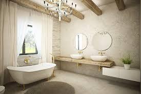 Soapstone Bathtub 41 Bespoke Bathrooms With Glittering Chandeliers