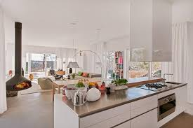 kitchen dining room ideas amazing design kitchen dining living room with white ceiling plus