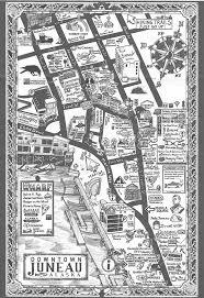 Juno Alaska Map by Juneau Downtown Business Association Downtown Business Association