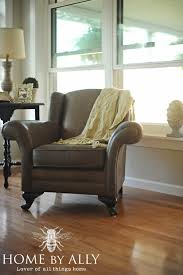 a new couch u0026 a yardsale chair home by ally