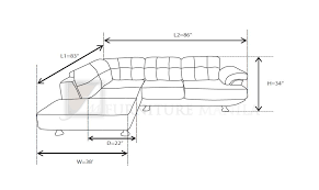 length of standard couch simple standard couch size layout mhl 002 belarus l shaped sofa