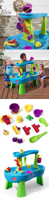 step 2 rain showers splash pond water table step 2 52344 step2 rain showers splash pond water table buy it
