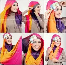 tutorial hijab paris zaskia tutorial hijab segi empat untuk wajah lonjong mudah dan kreatif