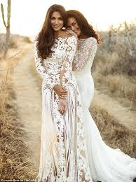 Bridal Wear Megan Gale Stuns In Unearthed Photo Shoot With Pia Miller Megan