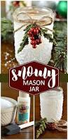 Diy Mason Jar Christmas Decorations by The 25 Best Mason Jar Christmas Crafts Ideas On Pinterest