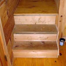 hardwood stair treads risers installation