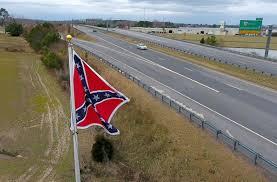 Virginia Flags Virginia Flaggers Raise New Confederate Flag Near Toll Plaza