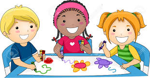 illustration of kids drawing stock photo picture and royalty free