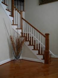 contemporary oak hardwood stairs doylestown pa