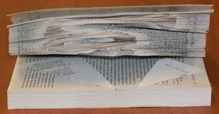 Book Paper Folding - fold a book into a word make it your library