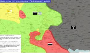Map Of Russia And Syria by Agathocle De Syracuse 4 Scenarios For Aleppo On 30 June 2015 2