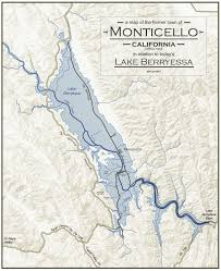 Lake Berryessa Lake Berryessa Sunken Town Of Monticello Openexplorer