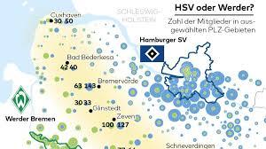 Wetter Bad Bederkesa Nordderby Hier Verläuft Die Grenze Zwischen Hsv Und Werder Fans