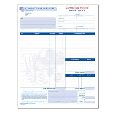 Roofing Invoice Sample General Contractor Invoice Designsnprint