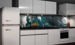 k che spritzschutz wand spritzschutz aus esg sicherheitsglas für küche bad wall de