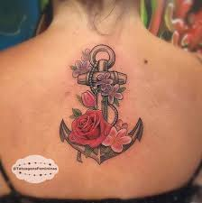 30 floral anchor tattoos for women anchor tattoos tattoo and floral