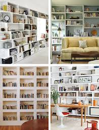 the built in bookcase design emily henderson