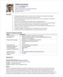 Sample Resume For Experienced Software Engineer Doc by Click Here To Download This Electrical Engineer Resume Template