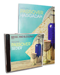 passover seder books and blessings for a messianic passover seder set messianic