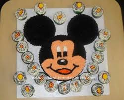 coolest mickey mouse birthday cake design