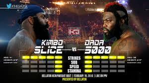 bellator 149 kimbo slice vs dada 5000 gauge youtube