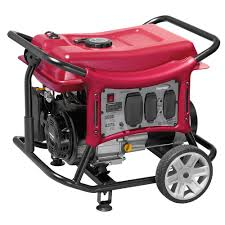 powermate 6 000 watt gasoline powered manual start portable