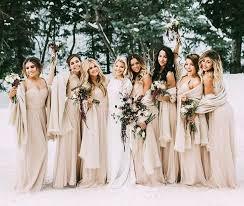 wedding bridesmaid dresses winter wedding bridesmaid dresses best 25 winter bridesmaid