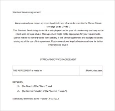 sample contract agreement 50 free documents download in pdf word
