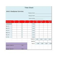 Excel Timesheet Template With Formulas Sle Biweekly Timesheet Employee Timesheet Template Stock Photo