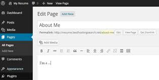 Create A Resume How To Make A Resume Online In Wordpress