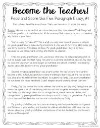 Examples Of Topic Sentences For An Essay Tips For Teaching U0026 Grading Five Paragraph Essays The Tpt Blog