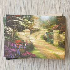 dayspring thomas kinkade thank you cards the thomas kinkade company