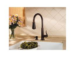 price pfister ashfield kitchen faucet rustic bronze ashfield 1 handle pull kitchen faucet gt529