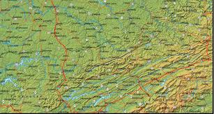 kentucky map map of kentucky