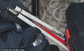 Blind Man Cane Gmp Taser Blind Man In Gun Blunder Daily Mail Online