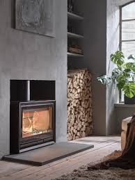 floor level fireplace contura 330 the stove in the illustration