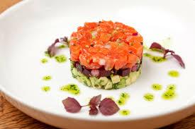 tartare cuisine salmon tartare recipe great chefs