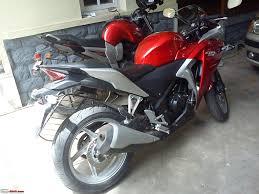 honda cbr 250cc baby ceeber comes home honda cbr250r team bhp