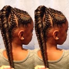 ponytail braid hairstyles for kids kids hairstyles braids for