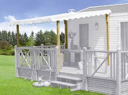 auvent en bois pour terrasse couverture terrasse mobil home clairval terrasse kit