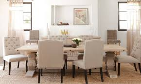 Tufted Dining Chair Dining Room Tufted Dining Room Chairs Intended For Awesome