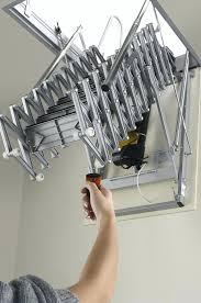 retractable attic ladders loft garage attic stairs ladder ideas