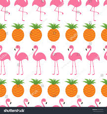 pineapple wrapping paper seamless pattern wrapping paper textile template stock illustration