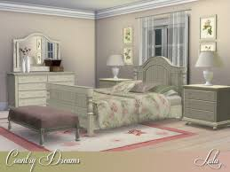 country dreams bedroom by lulu265 at tsr sims 4 updates