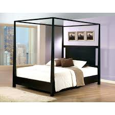 Wood Canopy Bed Frame Wood Canopy Bed Answersdirect Info